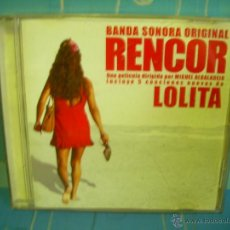 CDs de Música: LOLITA CD RENCOR BANDA SONORA ORIGINAL. Lote 53679624