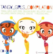CDs de Música: CD + DVD: TANGA GIRLS COMPILATION - CON MARTA SANCHEZ, FANGORIA, MALÚ, KATE RYAN Y OTRAS - 2003. Lote 53681678