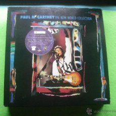 CDs de Música: PAUL MCCARTNEY THE NEW WORLD COLLECTION BOX/3 CD UK 1993 COLECCIONISTAS PDELUXE. Lote 53687666