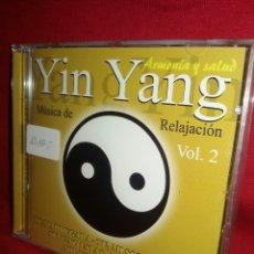 CDs de Música: YIN YANG - ARMONIA Y SALUD / MUSICA DE RELAJACIÓN VOL.2 ? CD NUEVO PRECINTADO #1198. Lote 53722565