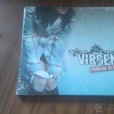 CDs de Música: VIRGEN. PRIMERA VEZ. CD DIGIPACK CON 10 TEMAS. PRECINTADO. Lote 53748551