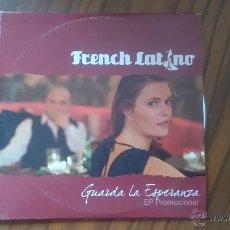CDs de Música: FRENCH LATINO. GUARDA LA ESPERANZA. CD SINGLE PROMOCIONAL EN CARTÓN. MISMO TEMA, CUATRO VECES. BUENO. Lote 53749882