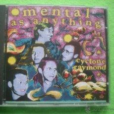 CDs de Música: METAL AS ANYTHING CYCLONE RAYMOND CD ALBUM CBS 1989 NUEVO¡¡¡. Lote 53750567