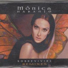 CDs de Música: MÓNICA NARANJO CD MAXI SOBREVIVIRÉ REMIXES 5 TRACKS 2000. Lote 53774533