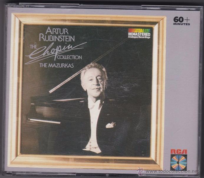 Arthur Rubinstein - The Chopin Collection (The Mazurkas) - 2 CDs + libreto