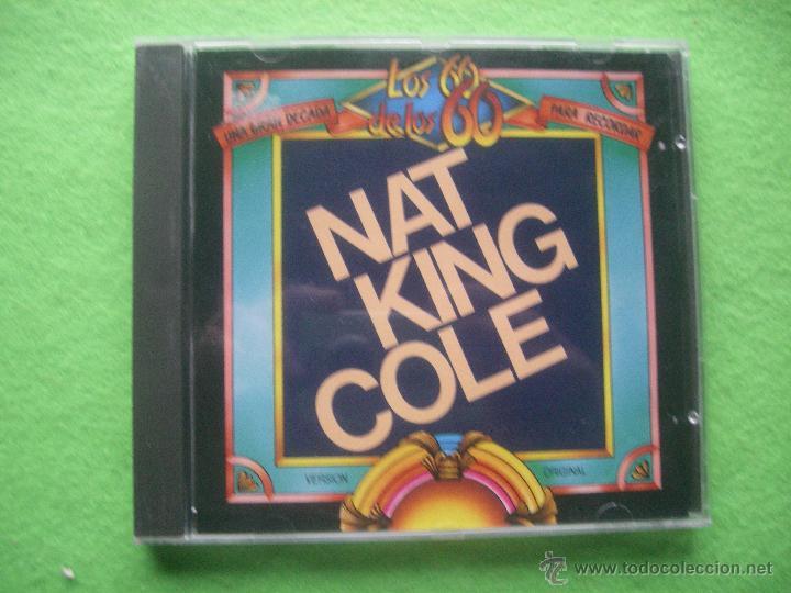 CD .ALBUM - NAT KING COLE.- LOS 60 DE LOS 60. UNA GRAN DECADA PARA RECORDAR. MADE SPAIN. 1993 PEPET (Música - CD's Pop)