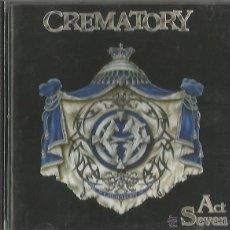 CDs de Música: CREMATORY. ACT SEVEN. 1999 . Lote 53820879