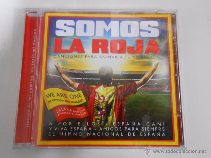 CDs de Música: SOMOS LA ROJA. CANCIONES PARA ANIMAR A TU SELECCION. TDKV4 - Foto 1 - 53822430