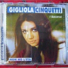 CDs de Musique: GIGLIOLA CINQUETTI.I SUCESSI EDICION ITALIA. Lote 53823322