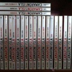 CDs de Música: CAMARÓN DE LA ISLA. 22 CD-LIBROS. 2010. Lote 53827586