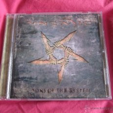 CDs de Música: MNEMIC - SONS OF THE SYSTEM CD - METAL INDUSTRIAL. Lote 53829010