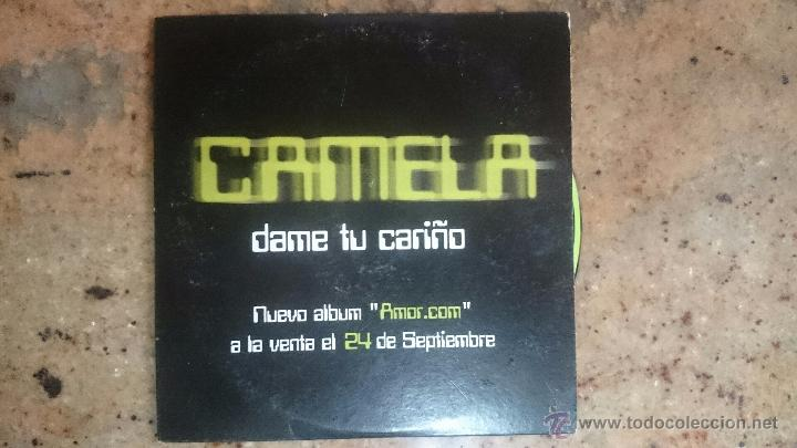 CD PROMO RADIO CAMELA DAME TU CARIÑO (Música - CD's Pop)