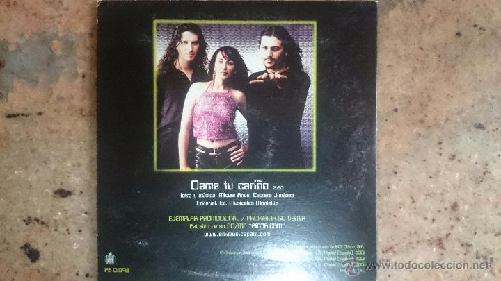 CDs de Música: Cd promo radio camela Dame tu cariño - Foto 2 - 53851274