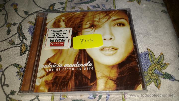 CD NUEVO PRECINTADO EDICIÓN ESPECIAL VISIONLAB PATRICIA MANTEROLA QUE EL RITMO NO PARE (Música - CD's Latina)