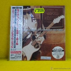 CDs de Música: STEVIE RAY VAUGHAN AND DOUBLE TROUBLE - LIVE AT CARNEGIE HALL - EDICION JAPONESA - CD. Lote 53877731
