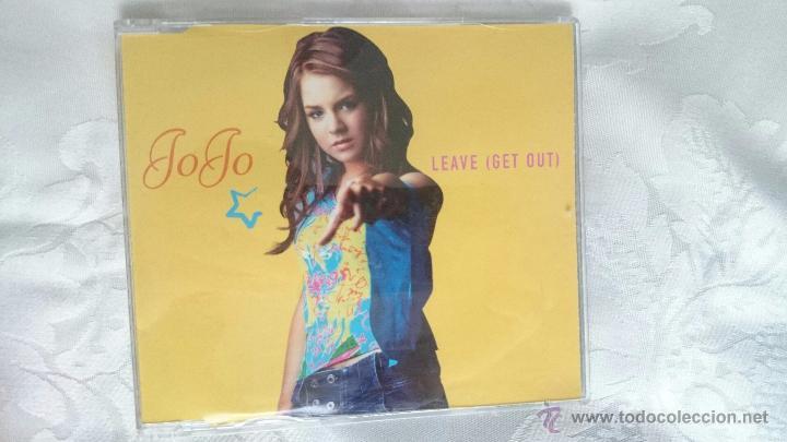 CD PROMO RADIO JOJO LEAVE GET OUT (Música - CD's Pop)