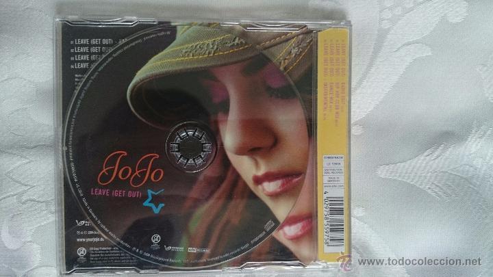 CDs de Música: Cd promo radio jojo leave get out - Foto 2 - 53884152