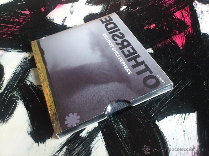 CDs de Música: RED HOT CHILI PEPPERS - OTHERSIDE - CD SINGLE - 2 TRACKS - WARNER - 2000 - Foto 3 - 53887995