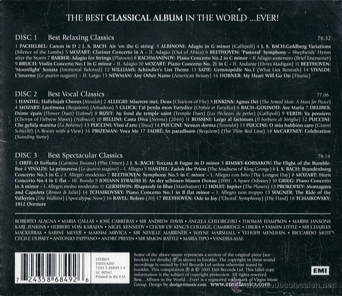 The best classical album in the world   ever! - Sold through