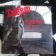 CDs de Música: DOKKEN - DAY AFTER DAY - BACK IN THE STREETS - LIAR - CD SINGLE - 3 TRACKS - REPERTOIRE - 1989. Lote 53893937