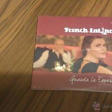 CDs de Música: FRENCH LATINO. GUARDA LA ESPERANZA. CD SINGLE PROMOCIONAL CON 4 TEMAS. PRECINTADO. Lote 53896096