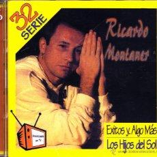 CDs de Música: RICARDO MONTANER-EXITOS Y... ALGO ÁS (LOS HIJOS DEL SOL) CD ALBUM DOBLE 1997 (VENEZUELA). Lote 53904576