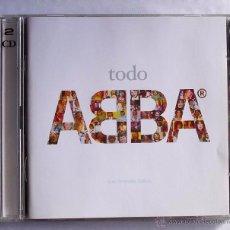 CDs de Música: ABBA - TODO ABBA (CD+DVD) 2004. Lote 53938169