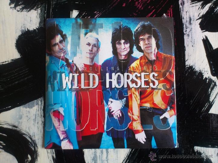 THE ROLLING STONES - WILD HORSES - CD SINGLE - PROMO - VIRGIN - 1995 (Música - CD's Rock)
