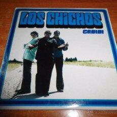 CDs de Música: LOS CHICHOS CABIBI CD SINGLE PROMO 2002 CARTON PRODUCIDO PACO ORTEGA 1 TEMA. Lote 53940663