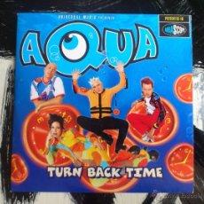 CDs de Música: AQUA - TURN BACK TIME - CD SINGLE - PROMO - 2 TRACKS - UNIVERSAL - 1998. Lote 53954011