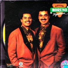 CDs de Música: HERMANOS MORENO-TOGETHER CD ALBUM 1992 SPAIN. Lote 53954484