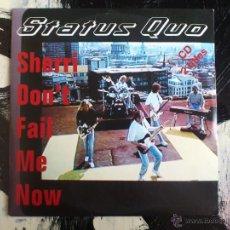 CDs de Música: STATUS QUO - SHERRI DON´T FAIL ME NOW - CD SINGLE - PROMO - 2 TRACKS - POLYDOR - 1994. Lote 53963845