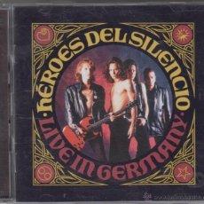 CDs de Música: HÉROES DEL SILENCIO CD + DVD LIVE IN GERMANY WARNER MÉXICO 1993. Lote 53964342