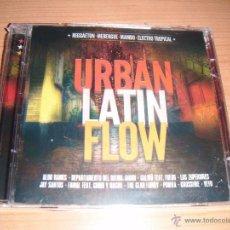 CDs de Música: URBAN LATIN FLOW, RAGGAETON, MERENGUE, MAMBO, ELECTRO TROPICAL, DOBLE CD. Lote 53964892