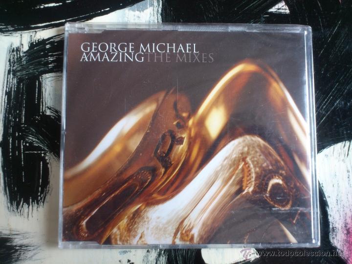 GEORGE MICHAEL - AMAZING - THE MIXES - CD SINGLE - SONY - 3 TRACKS - 2004 (Música - CD's Pop)