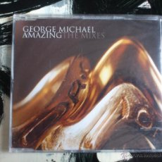CDs de Música: GEORGE MICHAEL - AMAZING - THE MIXES - CD SINGLE - SONY - 3 TRACKS - 2004. Lote 53965278