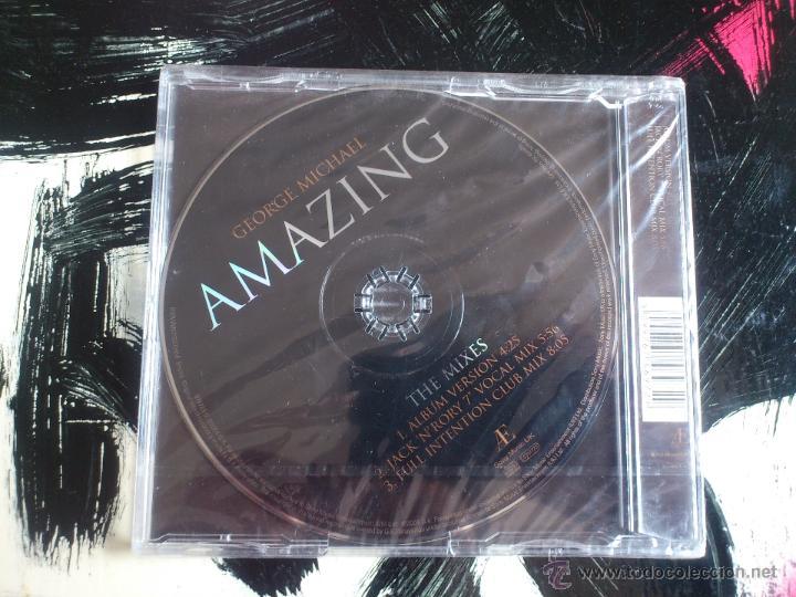 CDs de Música: GEORGE MICHAEL - AMAZING - THE MIXES - CD SINGLE - SONY - 3 TRACKS - 2004 - Foto 2 - 53965278
