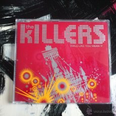 CDs de Música: THE KILLERS - SMILE LIKE YOU MEAN IT - CD SINGLE - PROMO - 2 TRACKS - LIZARD KING - 2005. Lote 53965345