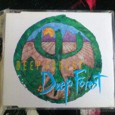 CDs de Música: DEEP FOREST - DEEP FOREST - CD SINGLE - 6 TRACKS - CELINE - SONY - 1994. Lote 53965485
