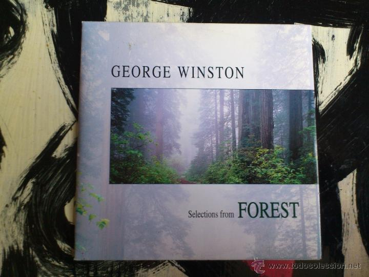 GEORGE WINSTON - SELECTION FROM FOREST - CD SINGLE - 4 TRACKS - BMG - 1994 (Música - CD's New age)