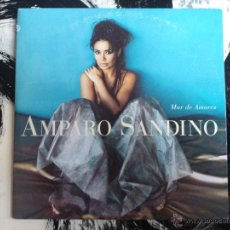 CDs de Música: AMPARO SANDINO - MAR DE AMORES - CD SINGLE - PROMO - ELEKTRA - 1996. Lote 53979896