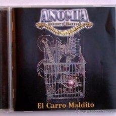CDs de Música: ANOMIA BLUES BAND - EL CARRO MALDITO (CD) 2009. Lote 53979957