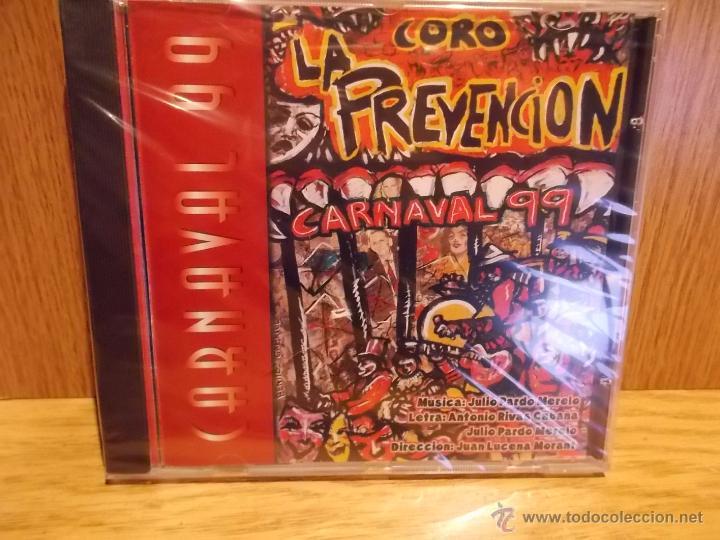CORO LA PREVENCIÓN. CARNAVAL 99. CD / CALÉ RECORDS - 1999. 18 TEMAS / PRECINTADO. (Música - CD's Otros Estilos)