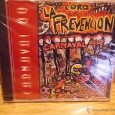 CDs de Música: CORO LA PREVENCIÓN. CARNAVAL 99. CD / CALÉ RECORDS - 1999. 18 TEMAS / PRECINTADO.. Lote 53980693
