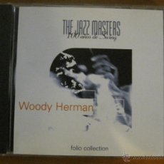 CDs de Música: WOODY HERMAN - THE JAZZ MASTERS-FOLIO COLLECTION. Lote 53984122