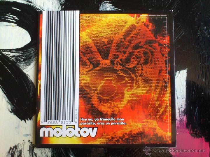 MOLOTOV - HEY YA, YA TRANQUILO MAN PARASITO ... - CD SINGLE - PROMO - SPAIN - UNIVERSAL - 1999 (Música - CD's Rock)