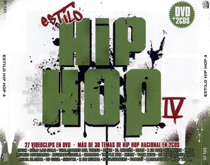ESTILO HIP HOP 4 - 2 CD + DVD. HIP HOP ESPAÑOL. NACH. SFDK. MUCHO MUCHACHO... (Música - CD's Hip hop)