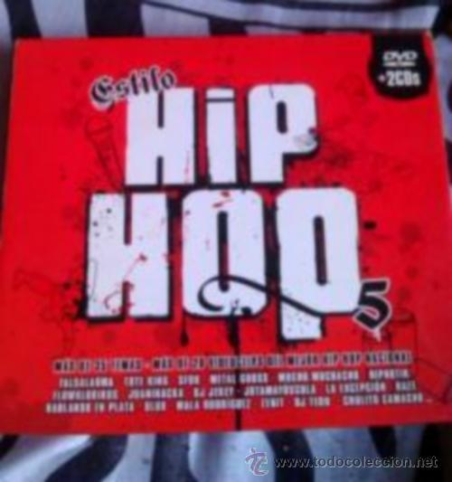 ESTILO HIP HOP 5 - 2 CD + DVD. HIP HOP ESPAÑOL. NACH. TOTE KING... (Música - CD's Hip hop)