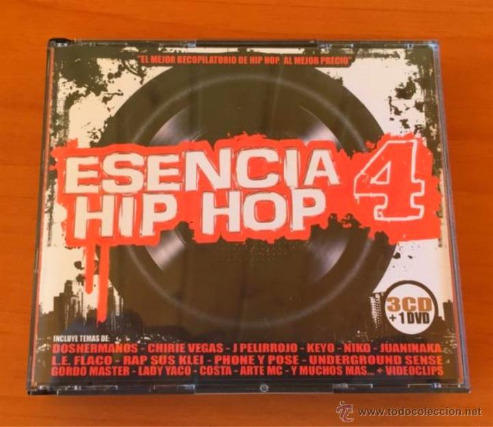 ESENCIA HIP HOP 4 - 3 CD + DVD. HIP HOP ESPAÑOL. (Música - CD's Hip hop)