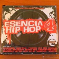 CDs de Música: ESENCIA HIP HOP 4 - 3 CD + DVD. HIP HOP ESPAÑOL.. Lote 54693380